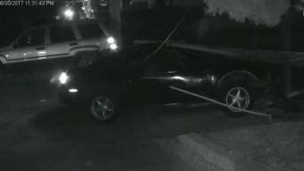 Violent Solo Crash in San Jose Captured on Surveillance Video