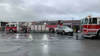 Firefighters Respond to Blaze at Cambrian Shopping Center