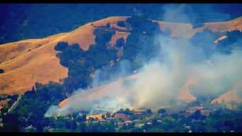 Five-Acre Fire in Morgan Hill Leaves No Structural Damage