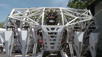 Maker Faire Brings Giant Human-Controlled Robot to Bay Area