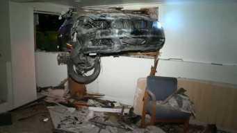 Car Crashes Into SJ Home, Driver Seemed Intoxicated: Witness