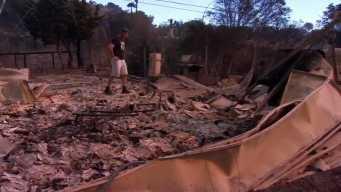 Thomas Fire Destroys Ventura County Fire Captain's Home