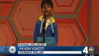 Youngest Spelling Bee Competitor Is Just 6 Years Old