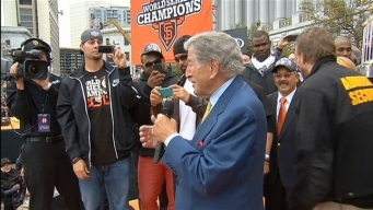 Tony Bennett Sings at the Giants Celebration