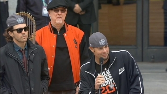 Vogelsong and Zito Speak at the Giants Celebration
