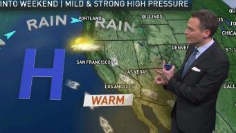 Jeff's Forecast: Mild 70s & Warming Beaches