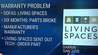 Warranty Won't Cover San Jose Man's Broken Furniture