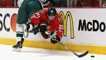Blackhawks Beat Wild 4-3 in Game 1 of Western Semis
