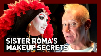 3 Hours in 3 Minutes: Watch Sister Roma's Amazing Makeup Transformation