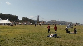 Crissy Field on the 75th GGB Birthday