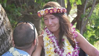 Missing Hawaii Hiker Has Emotional Reunion With Her Rescuers