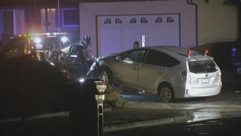Driver Fatally Shot, Car Slams Into Antioch Home