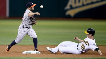 A's Rookie's Solid Outing Spoiled by Bullpen in Loss