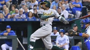 A's Bats Put It All Together on Offense to Beat Royals
