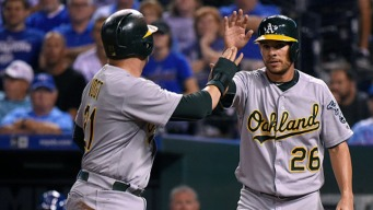 A's Clobber Royals For Third Straight Win Over Champs