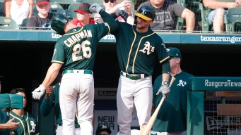 Powerful A's Offense Sets Franchise Record With 244th Homer of Season