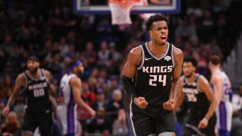 Buddy Hield Delivers in the Clutch With Win Over Pistons, 'I'm Blessed'