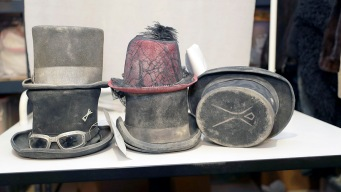 Oddities Await Their Owners at Burning Man Lost and Found