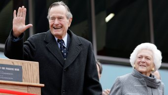 George H.W. Bush Leaving ICU, Barbara Out of Hospital