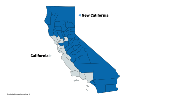 New CA Declares Independence, Hopes to Become 51st State