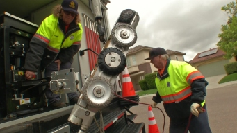 Crew Uses Robots to Check Sewer Pipes in Chula Vista