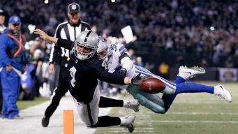 Inside Carr's Final Lunge, and What Happened to Crabtree on Fateful Play