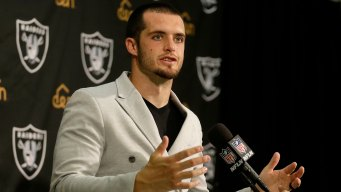 OPD Credits Raiders' Derek Carr for Helping Find Missing Boy