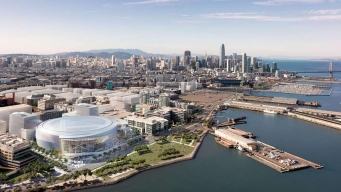 Groundbreaking Ceremony for Warriors' New Stadium