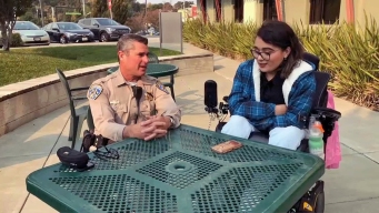 CHP Officer Reunites With Girl He Saved 16 Years Ago