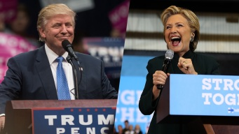 Clinton, Trump Hit Campaign Trail Hard on Friday