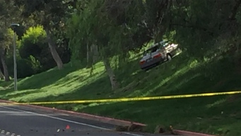 Driver Killed After Striking Fence, Rolling Down Embankment