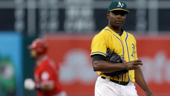 Cotton Hit Hard by Angels, A's Walk-off Magic Ends
