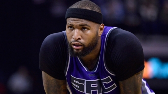 NBA: Cousins Didn't Foul Wade on Late Missed Dunk; Kings Center Responds
