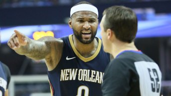 NBA Fines Pelicans C DeMarcus Cousins for Incident With Fan