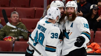 Sharks Alternate Captains' Job Just as Important as Logan Couture's