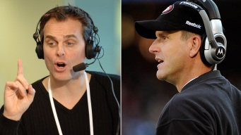 """Cowherd: Harbaugh Interview a """"Clunker"""""""