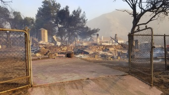 SoCal Wildfire Is Swallowing Up a 'Football Field a Second'