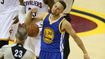Steph Curry's Game-used 2016 NBA Finals Jersey Sells at Auction For...a Lot
