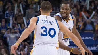 Warriors' Curry and Durant Named All-Star Starters