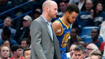 Stephen Curry Out Two Weeks With Sprained Ankle: Warriors