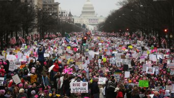 Examining the Massive Turnout for Women's March