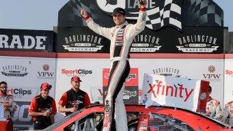 Xfinity Series: Denny Hamlin Holds on for Darlington Win