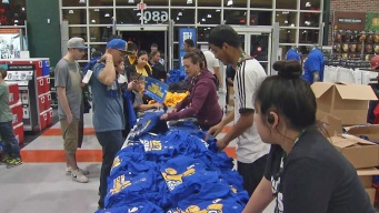 Dub Nation Lines Up for Warriors Championship Gear