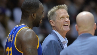 Draymond, Klay Support Kerr on Pot Use: 'It Made a Lot of Sense'