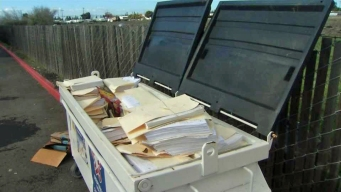 Old Tax Forms Found in Open Dumpster in Fremont