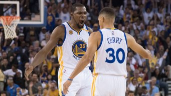 Top 10 Plays for Warriors All-Star Starters Curry, Durant