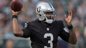 Raiders Retain E.J. Manuel, Now Have Four QBs on the Roster