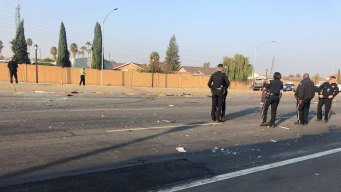 Stolen Vehicle Crashes on SJ Expressway, Suspect at Large
