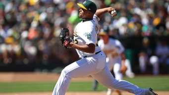 Jeurys Familia Joins the A's at Perfect Time and Picks Up Win in Debut