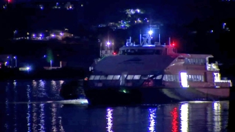 SF-to-Vallejo Ferry Boat Stranded for Hours on San Pablo Bay
